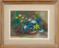 Nr. 910 Alpenblumen in Schale