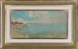 Nr. 2814 Camargue (Stimmungsbild mit Booten)