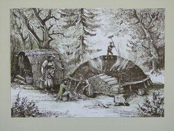Nr.778 Köhlerei nach Zeichnung Lory