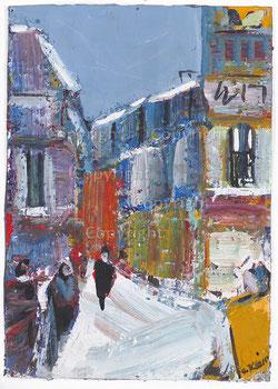 Nr.2011   Winterliche Vorstadt