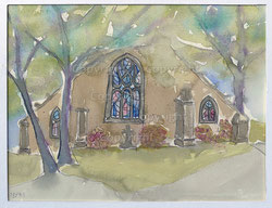 Nr. 2179  Kirche Pont'Avem, Bretagne F