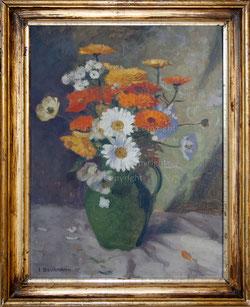 Nr. 1628 Blumen im grünen Krug
