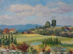 Nr. 1136 Landschaft im Oberaargau