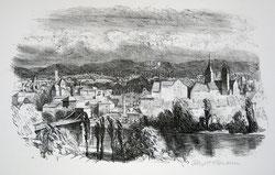 Nr. 1668 Aarau, Blick vom Hungerberg