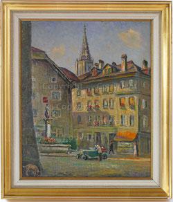 Nr.2107  Partie vom Rathausplatz Bern