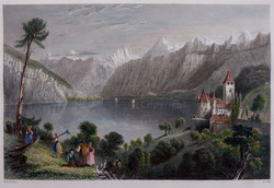 Nr.518 The Castle of Spiez,Lake Thun