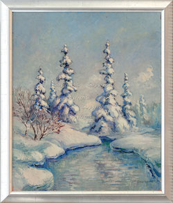 Nr.2712 Winterlandschaft
