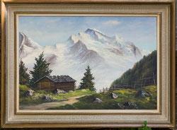Nr.867 Jungfrau mit Alphütte