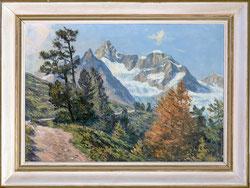 Chemin de Findelen, Gabelhorn b. Zermatt