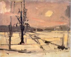 Nr.2662 Winterlandschaft mit Sonne