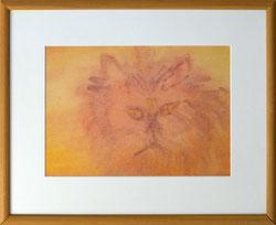 Nr. 2855  Katze in orange