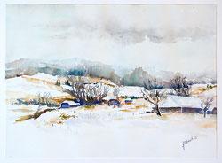 Nr. 1384 Winter im Emmental