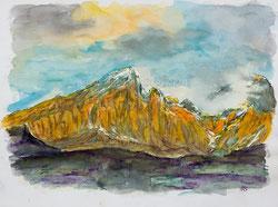 Nr. 404 Berglandschaft