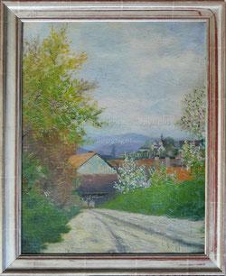 Nr.1928;  Am Dorfeingang