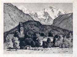 Nr. 3186 Unterseen mit Jungfrau