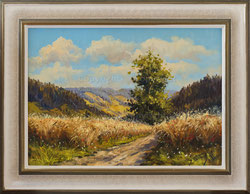 Nr.2693 Weizenfeld mit Mohnblumen