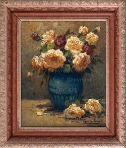 Nr. 2798 Rosenbouquet in Vase