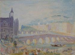 Nr.1016 Paris, Pont de  la Tournelle