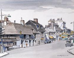 Eastbourne Highstreet England 1949