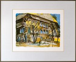 Nr. 2926 Bauernhaus im Herbst