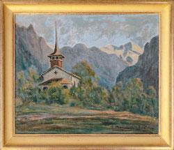 Nr.3446 Kirche Kandergrund 1964