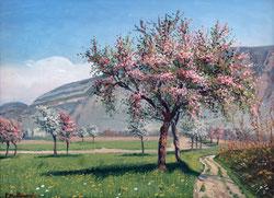 Nr. 3345 Blühende Obstbäume