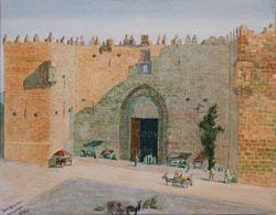 Nr.1055 Damaskusmauer Jerusalem