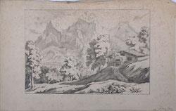 Nr. 3017  Berglandschaft