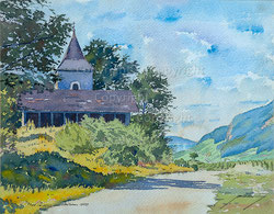 Nr. 2235  Ob Tüscherz am Bielersee (1959)