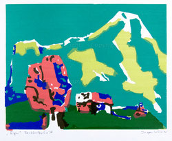 Nr.735 Eiger bei Grindelwald