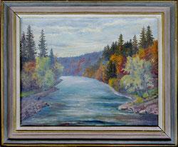 Nr.1965; Flusslandschaft (Doubs)