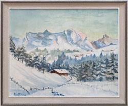 Nr. 3573 Berglandschaft im Winter