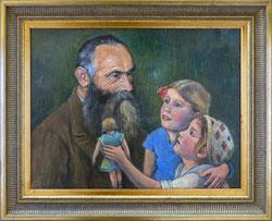 Nr. 0320 Opa Bracher mit Enkelinnen