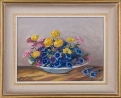 Nr. 1148 Alpenblumen in Schale