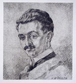 Nr.631 Portrait (Selbstportait?)