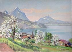 Nr.1737/RB711  Leissigen im Frühling