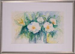 Nr.2629 weisses Blumenbouquet 1998