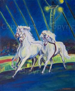 Nr. 90 Zirkuspferde