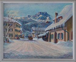 Nr. 2978 Beim Dorfschmied, Sils Maria 1961