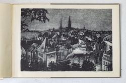 Die Stadt Bern bei Nacht