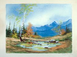 Nr. 0053  Berglandschaft