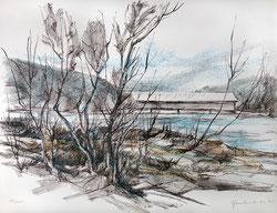 Nr. 2149  Gedeckte Holzbrücke (ev.Signau i.E.)
