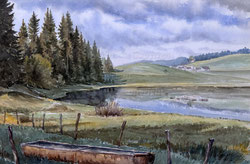 Nr. 2780  Lac Ter, Vallée de Joux mit Brunnen (VD)