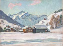 Nr.1712/RB701 Bei Gstaad mit Wildhorn