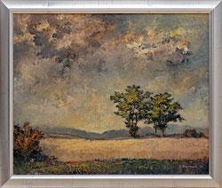 Nr. 1164 Kornfeld und Wolkenstimmung