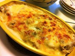 里芋のチーズグラタン