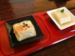 野歩ほんランチ呉豆腐食べ比べ