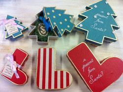 クリスマスプレゼントボックス3コセット