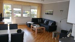Bild: Wohnraum der Traumferienwohnung Nr. 50, für bis zu 5 Personen im Haus 2 der Residenz Meeresbrandung