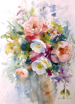 Adisak Soisuriya Contemporary Watercolour Artist